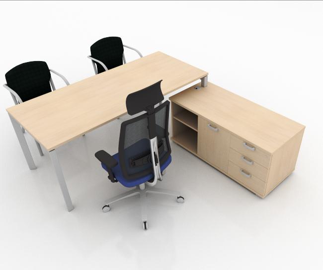 MESAS DE DIRECCIÓN | STAR CREDENZA | Muebles de oficina, mesas ...