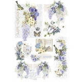 Papel arroz decoupage Love-garden