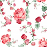 Servilleta decoupage Cottage roses