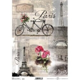 Papel arroz decoupage R0499