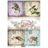 Papel arroz decoupage R1123