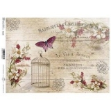 Papel arroz decoupage R1186