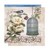 0Papel scrapbooking SD-371
