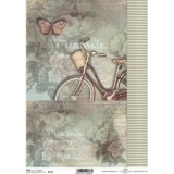 Papel arroz decoupage R0714