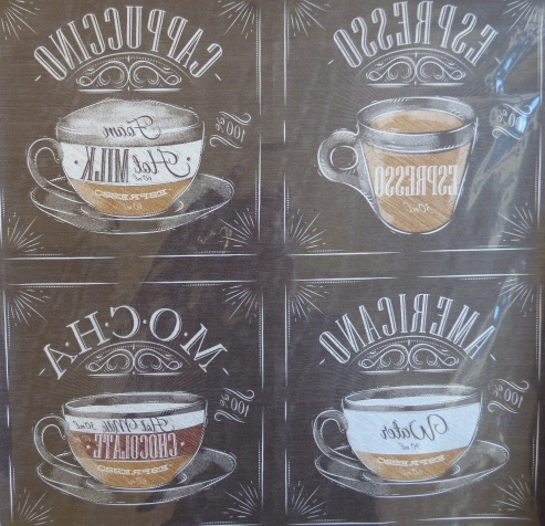 Papel sublimación Black coffee 30x30