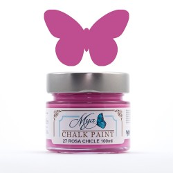 Chalk Paint -Mya27- Rosa chicle
