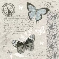 Servilleta decoupage Butterfly postcard