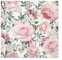 0Servilleta decoupage Gorgeous roses 25x25