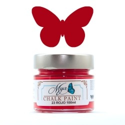 Chalk Paint -Mya23- Rojo
