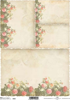 Papel arroz decoupage R0050