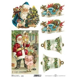 Papel arroz decoupage R790