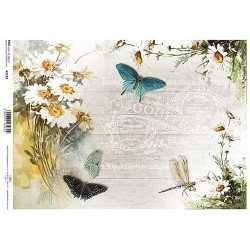 Papel arroz decoupage R1183