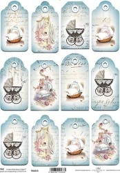 0Papel scrapbooking TAG015 A4