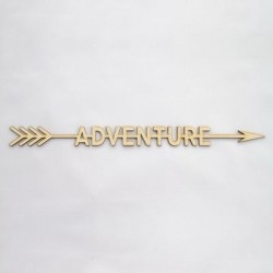 0Cartel madera 001 Flecha adventure
