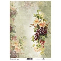 0Papel arroz decoupage R1197