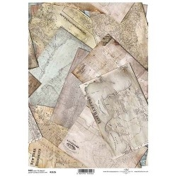 0Papel arroz decoupage R1125
