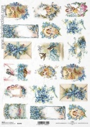 0Papel arroz decoupage R1343