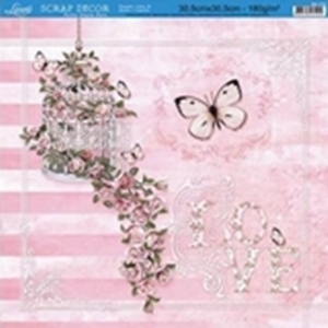Papel scrapbooking SD-376