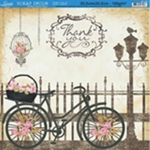 Papel scrapbooking SD-368